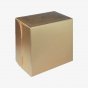 Metallic Gold Cake Box