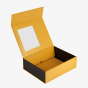 Yellow Window Box with Magnetic Closure