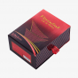 Red Perfume Drawer Box with Fabric Handle