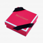 Pink Luxury Apparel Box with Gold Foil Logo