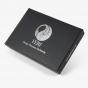 Black Leather Jewelry Lid-Off Box