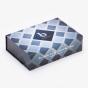 Blue Pattern Dental Box with Insert