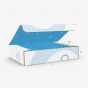 Collapsible 4 Corner Tray Top Tuck