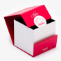 Collapsible Red Body Powder Box