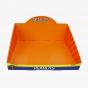 Orange Single Bin Display