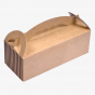 Brown Bakery Box With Handle