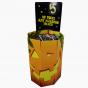 Yellow Octagonal Dump Bin