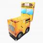 Yellow Dump Bin for School Supplies