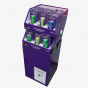 Violet Dump Bin With Stackable Trays