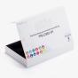 White Marketing Kit Box with Insert