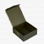 Brown Retail Hinged Box with Partial Magnetic Closure