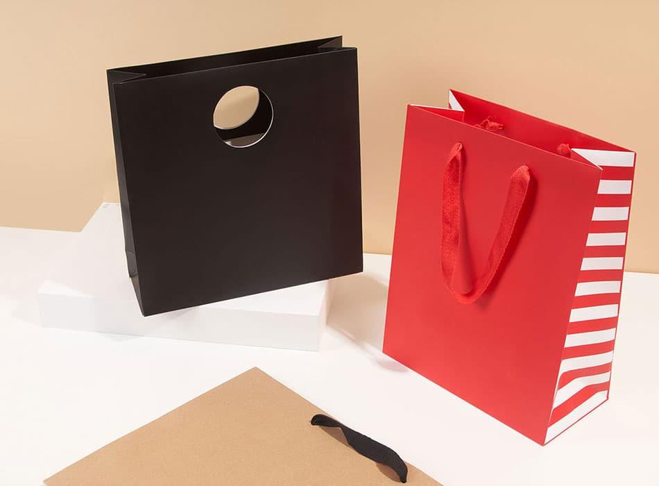 Custom Luxury Paper Bags & Carriers   PakFactory Custom Packaging