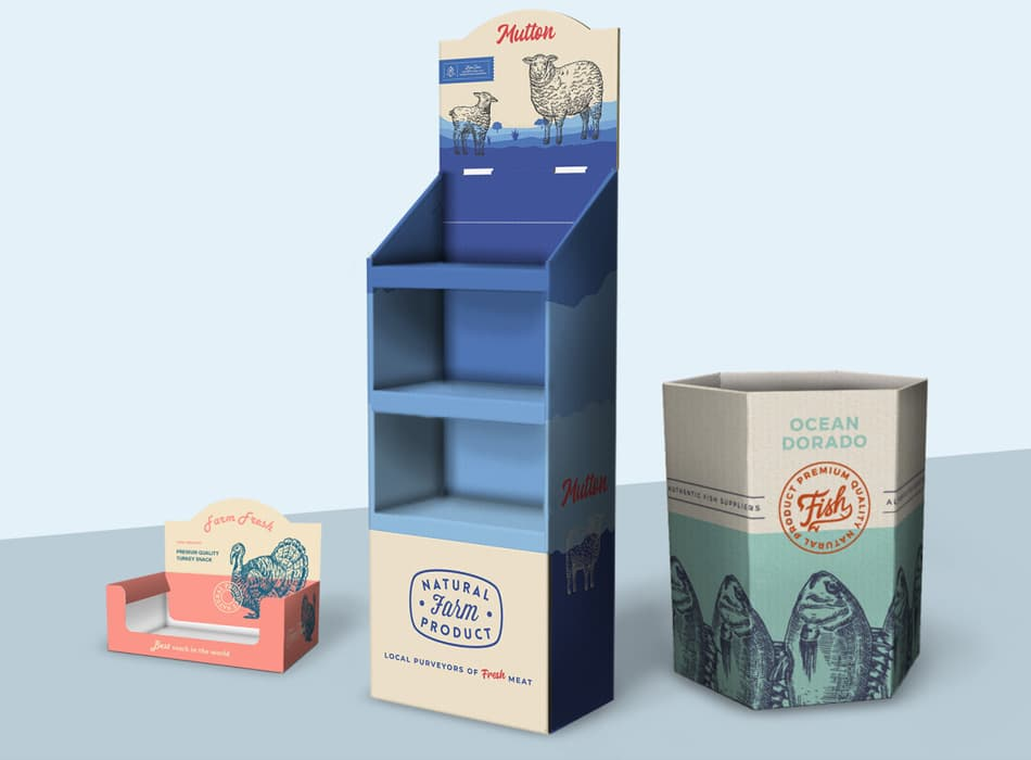 Custom Cardboard POP Displays | Retail & Product Display Stands