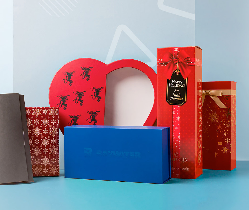 Custom Gift Boxes - Custom Printed Gift Boxes | PakFactory®