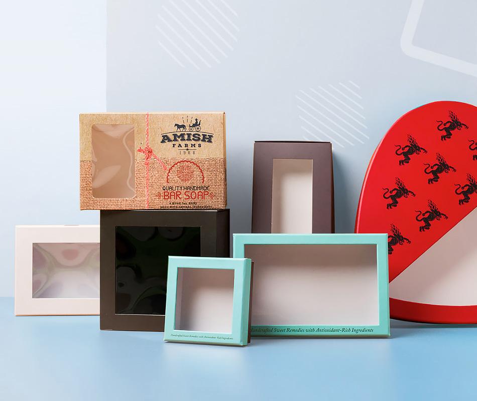 Custom Window Cut-Out Packaging & Boxes   PakFactory Custom Packaging