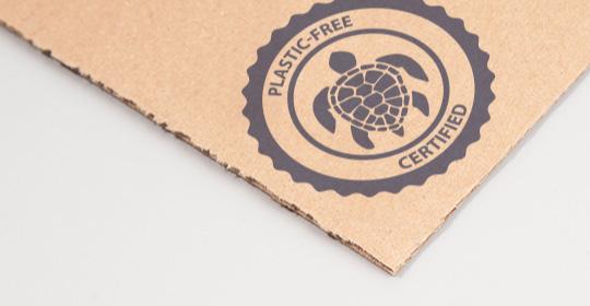 plastic free box material
