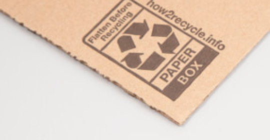 recycleable box material
