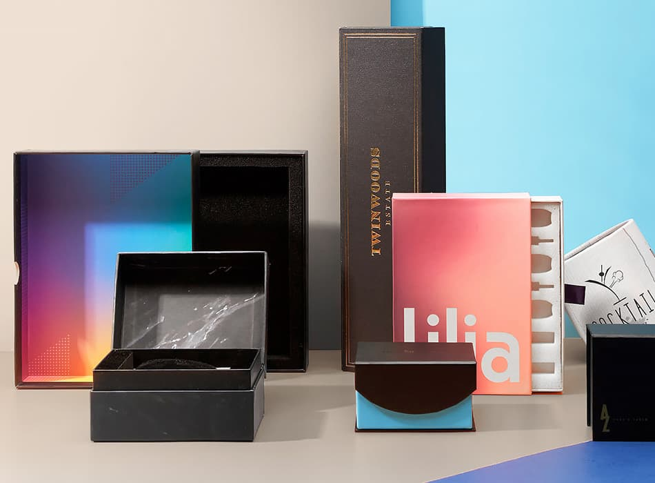 Custom Rigid / Setup Boxes for Luxury Packaging